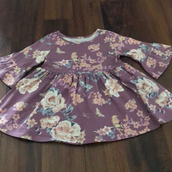 Children's Place Other - 🍁🍁Children's Place floral flare dress🍁🍁